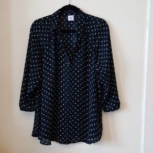 CAbi blue blouse